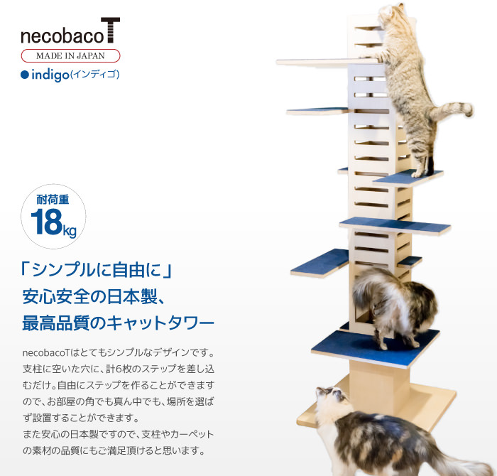 necobacoT indigo(インディゴ)
