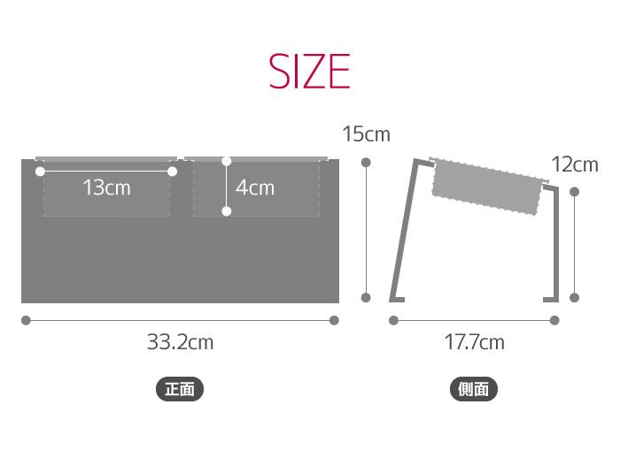 Ours フードボウルテーブル Mサイズ ステンレスタイプ