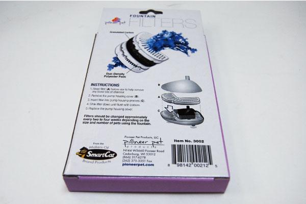 セラミックファウンテン 活性炭フィルター3個セット