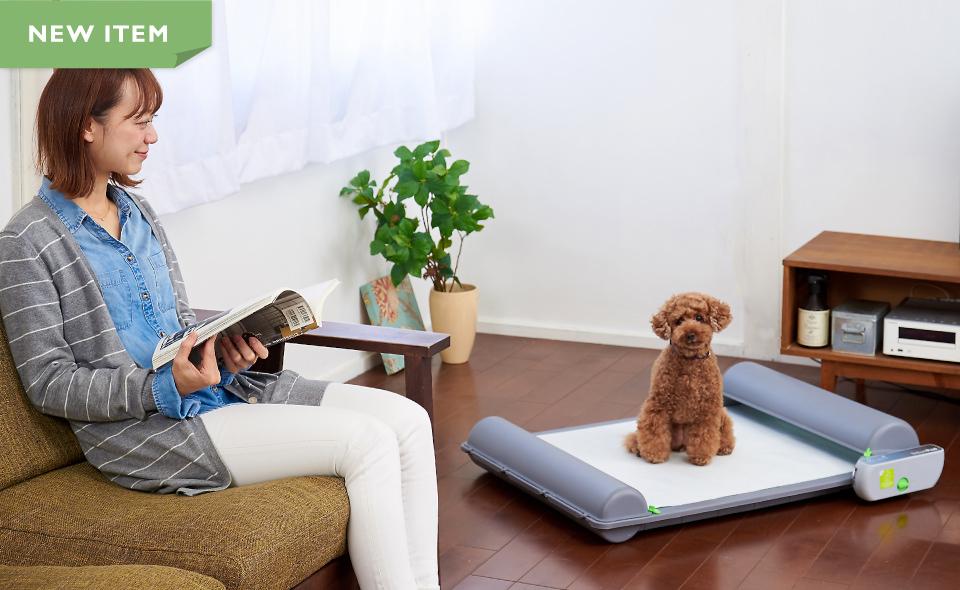 ロール式自動犬トイレ ブリリアントパッド